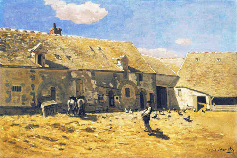 Farmyard at Chailly
